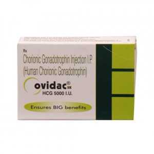 HCG 1 vial of 5000IU online