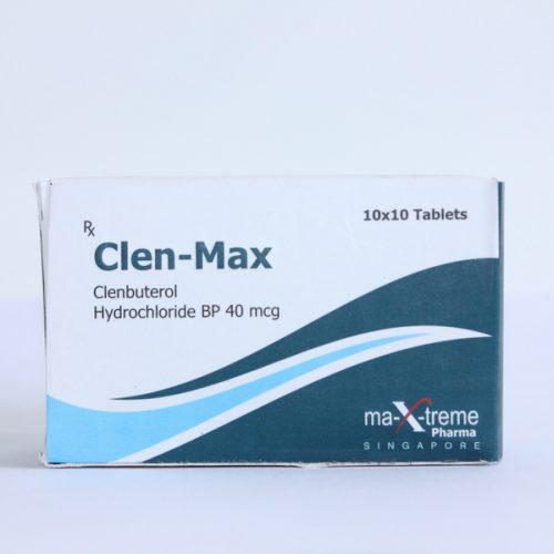 Clenbuterol hydrochloride (Clen) 40mcg (100 pills) online