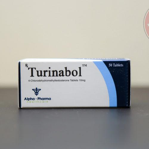 Turinabol (4-Chlorodehydromethyltestosterone) 10mg (50 pills) online