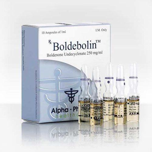 Boldenone undecylenate (Equipose) 10 ampoules (250mg/ml) online