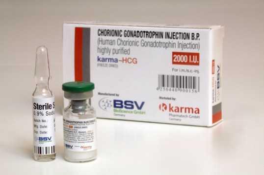 HCG 1 vial of 2000IU online