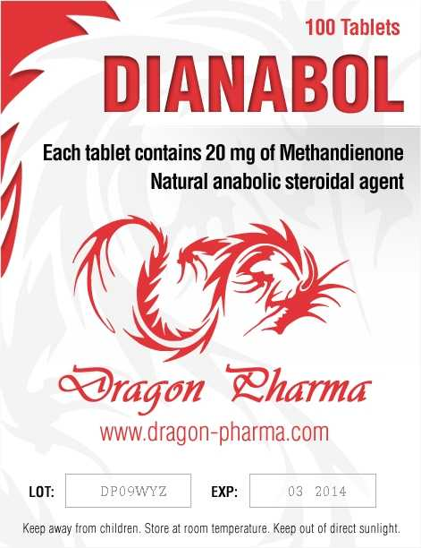 Methandienone oral (Dianabol) 20mg (100 pills) online