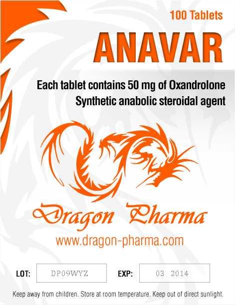 Oxandrolone (Anavar) 50mg (100 pills) online