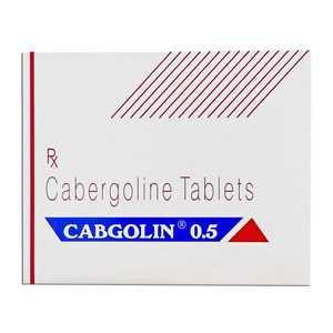 Cabergoline (Cabaser) 0.25mg (4 pills) online