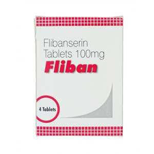 Flibanserin 100mg (4 pills) online