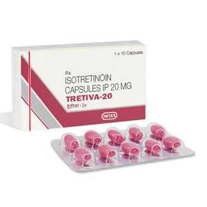 Isotretinoin (Accutane) 20mg (10 caps) online