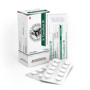 Turinabol (4-Chlorodehydromethyltestosterone) 10mg (50 pills) online