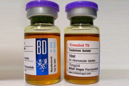 Trenbolone acetate 10 ampoules (75mg /ml) online