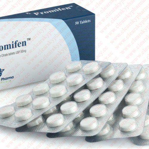 Clomiphene citrate (Clomid) 50mg (50 pills) online