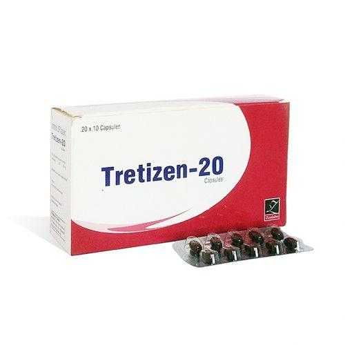 Isotretinoin (Accutane) 20mg (10 capsules) online