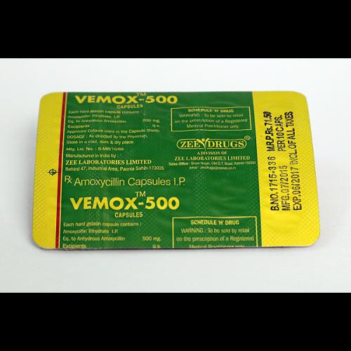 Amoxicillin 500mg (30 capsules) online