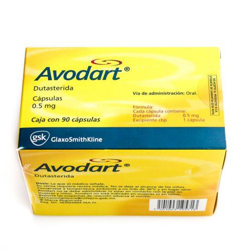 Dutasteride (Avodart) 0.5mg (15 capsules) online