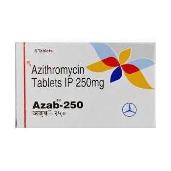 Azithromycin 250mg (6 pills) online