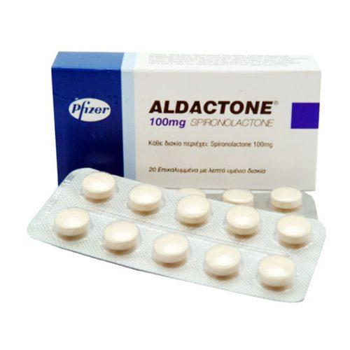 Aldactone (Spironolactone) 100mg (30 pills) online